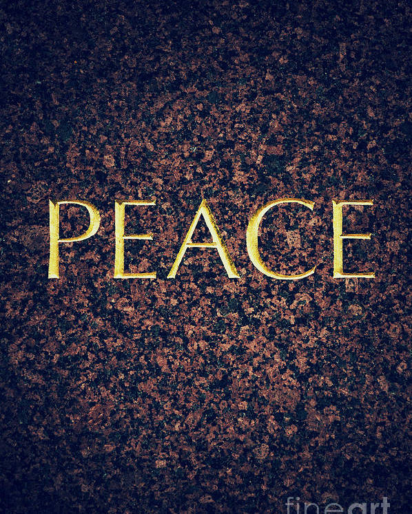 Peace Poster featuring the photograph Peace by Tim Gainey