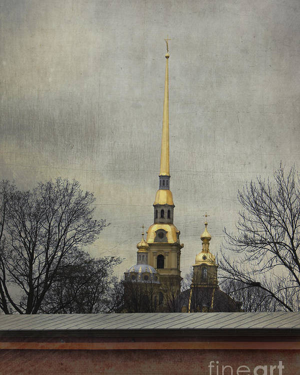 Peter And Paul Fortress Poster featuring the photograph Peter And Paul Fortress by Elena Nosyreva