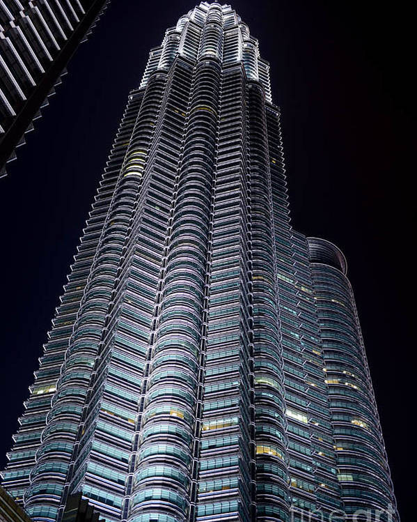 Architecture Photographs Poster featuring the photograph Petronas Towers by Hank Taylor