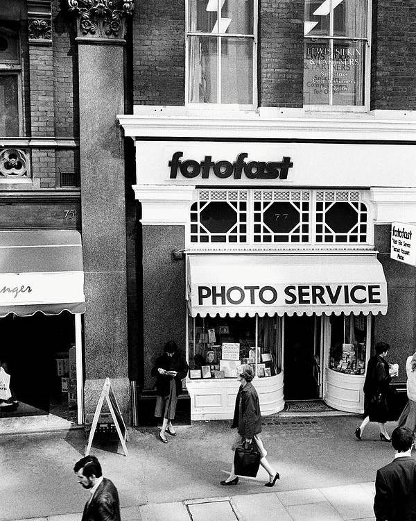 1986 Poster featuring the photograph Photography Shop by Jagdish Agarwal
