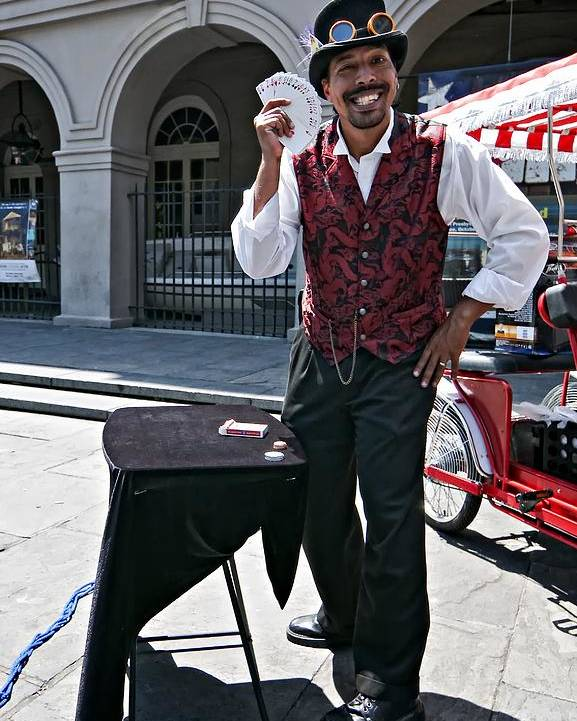 French Quarter Poster featuring the photograph Pick A Card...any Card by Steve Harrington