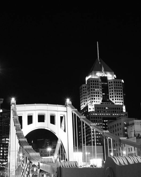 Pittsburgh Poster featuring the photograph Pittsburgh Bridge by Josh Ebel
