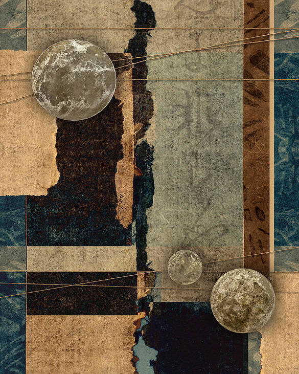 Planet Poster featuring the photograph Planetary Shift #2 by Carol Leigh