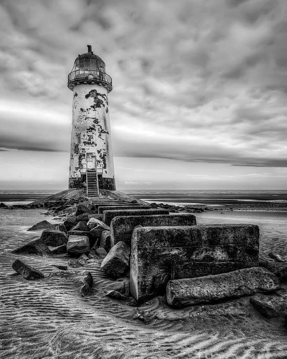 Lighthouse Poster featuring the photograph Point Of Ayre Lighthouse by Adrian Evans