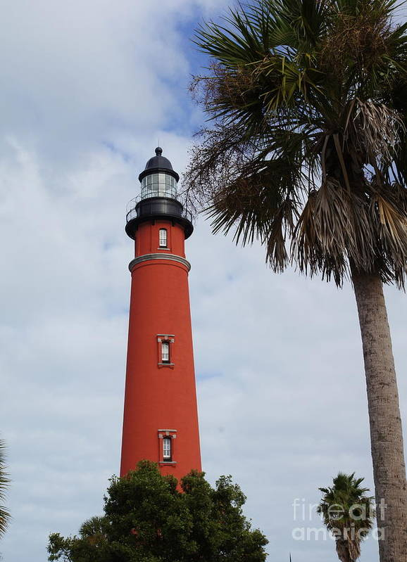 Lighthouse Poster featuring the photograph Ponce Inlet Lighthouse by Megan Cohen