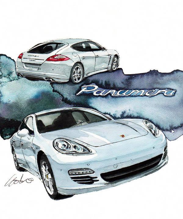 Porsche Panamera by Yoshiharu Miyakawa