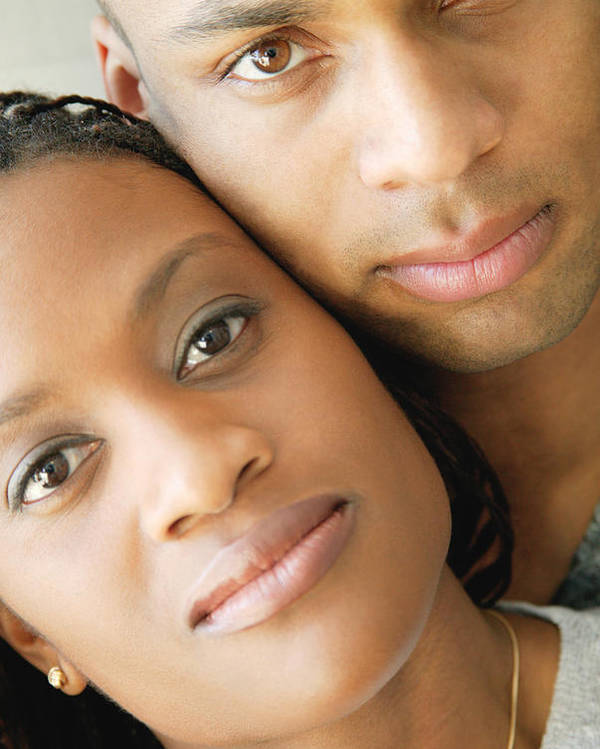 Relationships Poster featuring the photograph Portrait Of A Couple by Darren Greenwood