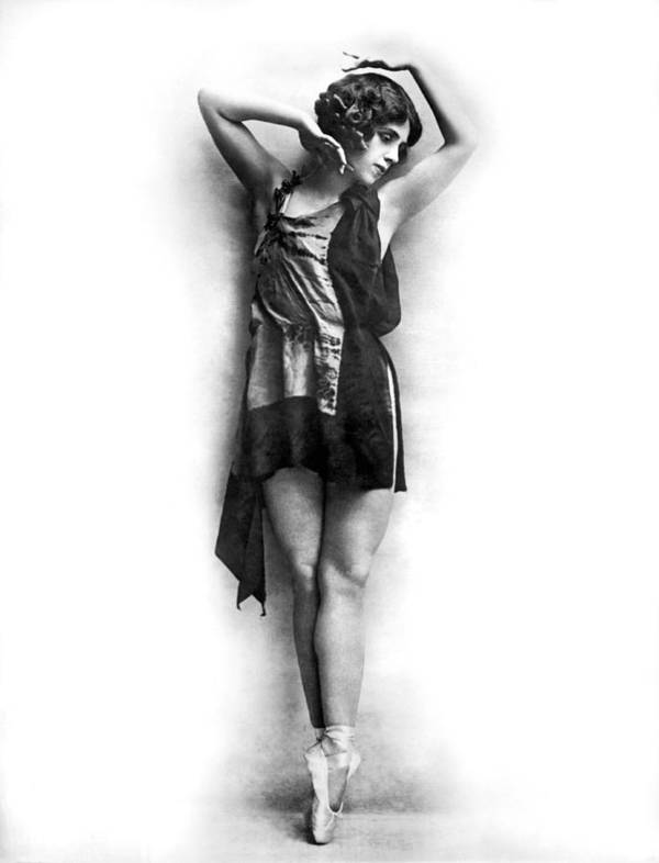 1927 Poster featuring the photograph Portrait Of Dancer Agnes Boone by Underwood Archives