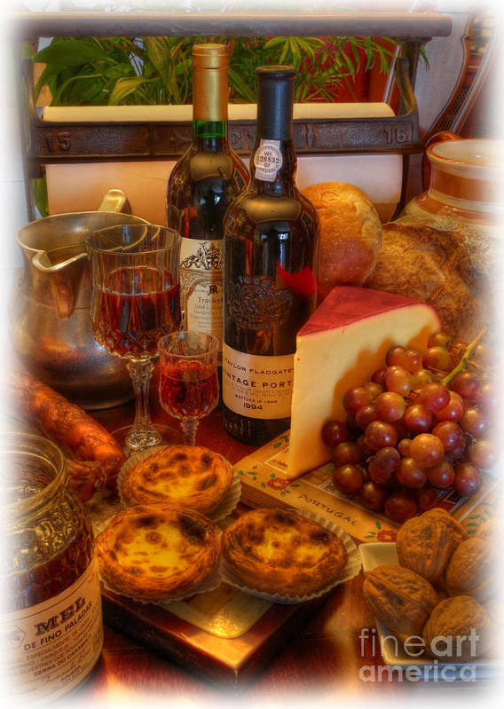 Cabernet Sauvignon Poster featuring the photograph Portuguese Bounty by Lee Dos Santos