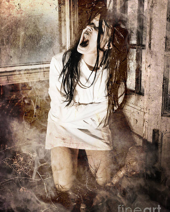 Halloween Poster featuring the photograph Possessed by Jt PhotoDesign