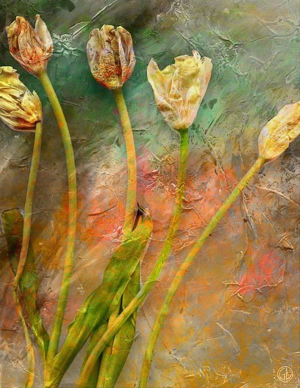 Flower Flowers Poster featuring the digital art Preserved Memory by Gun Legler