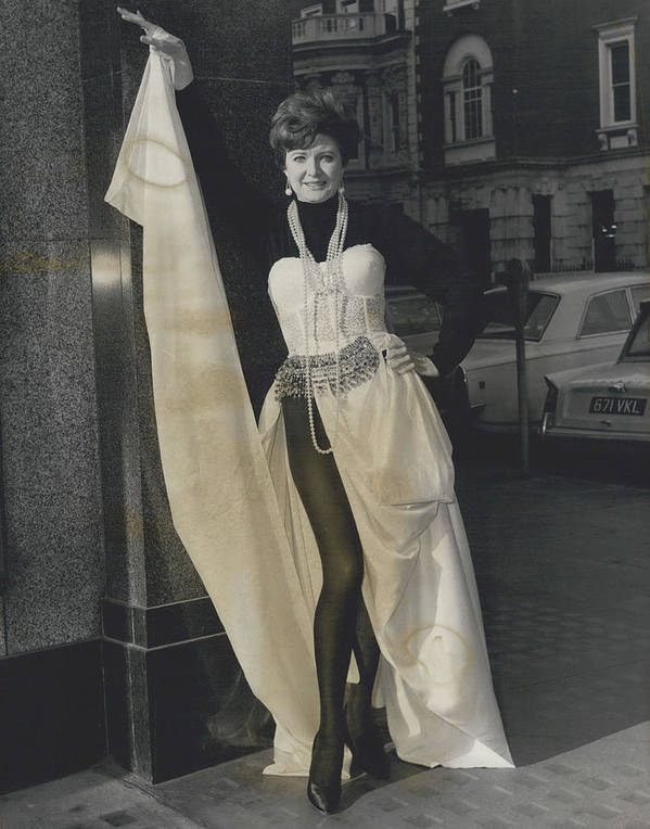 retro Images Archive Poster featuring the photograph Preview Of Red Cross Fashion Display In London. All To Show by Retro Images Archive