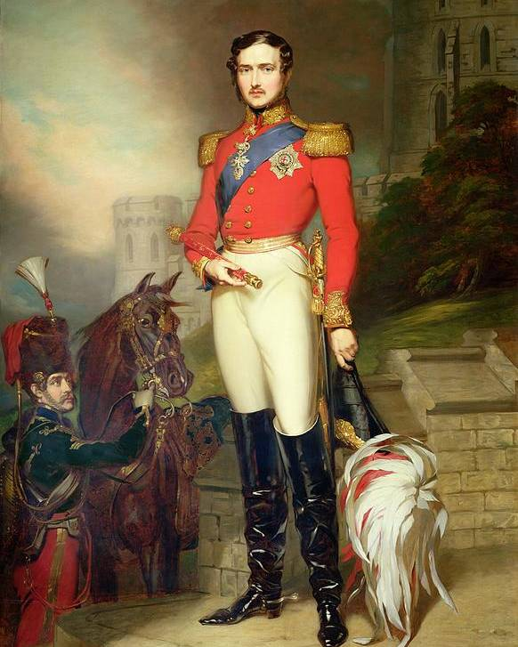 Fusilier Poster featuring the painting Prince Albert by John Lucas