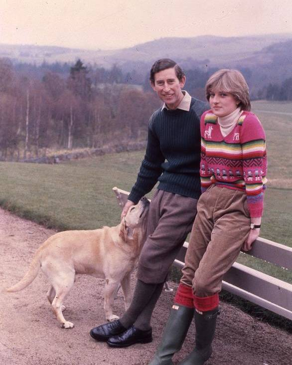 Prince Poster featuring the photograph Prince Charles And Lady Diana by Retro Images Archive