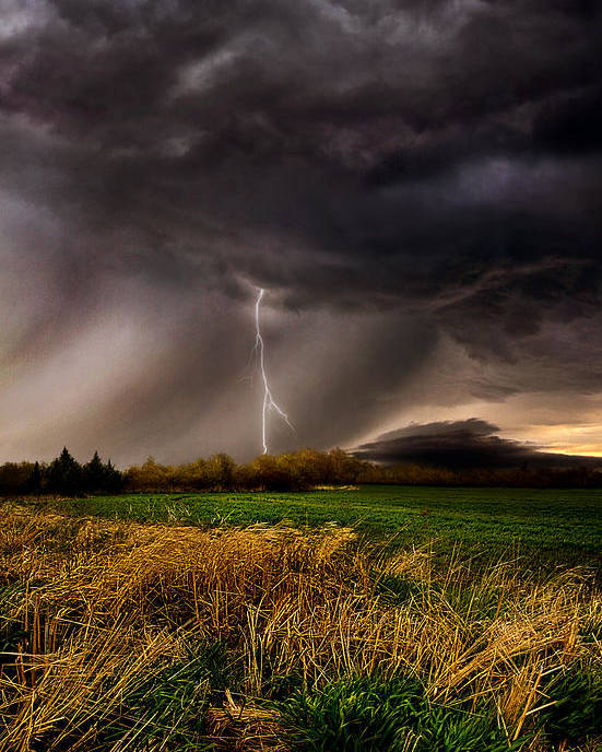 Storm Poster featuring the photograph Profound by Phil Koch