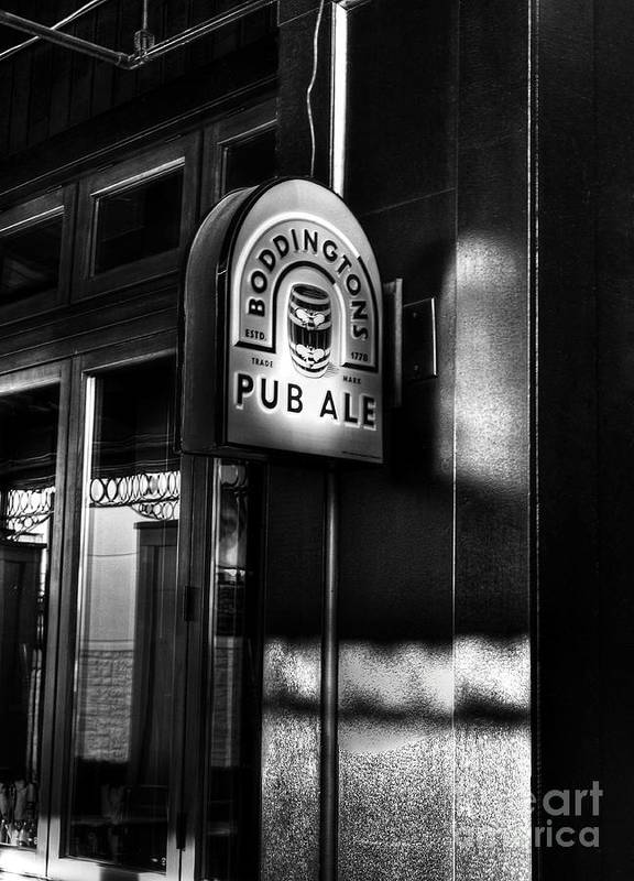 Pubs Poster featuring the photograph Pub Ale by Mel Steinhauer