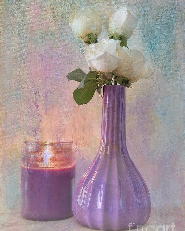 Still Life Poster featuring the photograph Purity by Betty LaRue