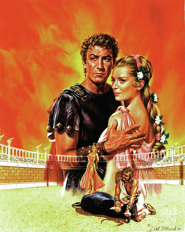 Portrait Poster featuring the painting Quo Vadis by Dick Bobnick