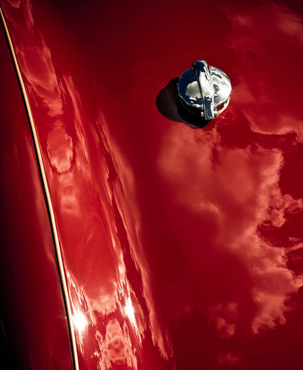 Old Red Car Poster featuring the photograph Red Jupiter Sky by Phil 'motography' Clark