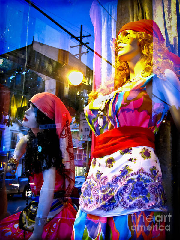 Mannequins Poster featuring the photograph Reflections In The Life Of A Mannequin by Colleen Kammerer