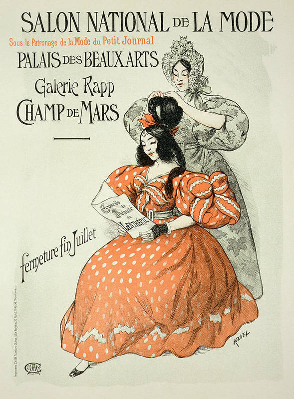 Advert Poster featuring the drawing Reproduction Of A Poster Advertising by Roedel