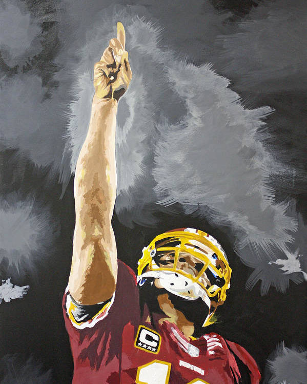 Rg Iii Poster featuring the drawing Rg IIi by Don Medina