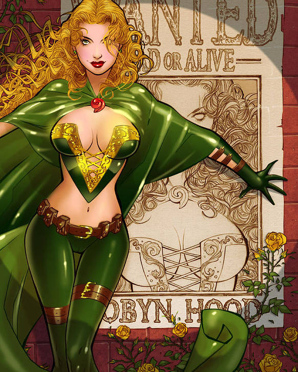 Grimm Fairy Tales Poster featuring the digital art Robyn Hood 03e by Zenescope Entertainment