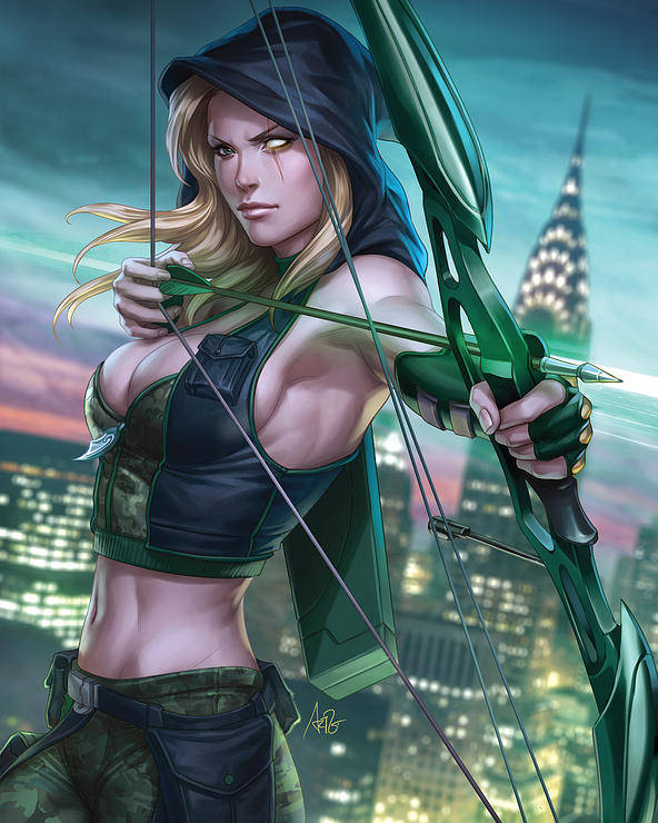 Grimm Fairy Tales Poster featuring the drawing Robyn Hood Wanted 01a by Zenescope Entertainment
