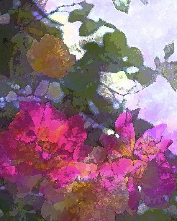 Floral Poster featuring the photograph Rose 206 by Pamela Cooper