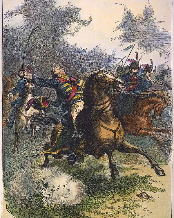 1779 Poster featuring the photograph Savannah: Pulaski, 1779 by Granger