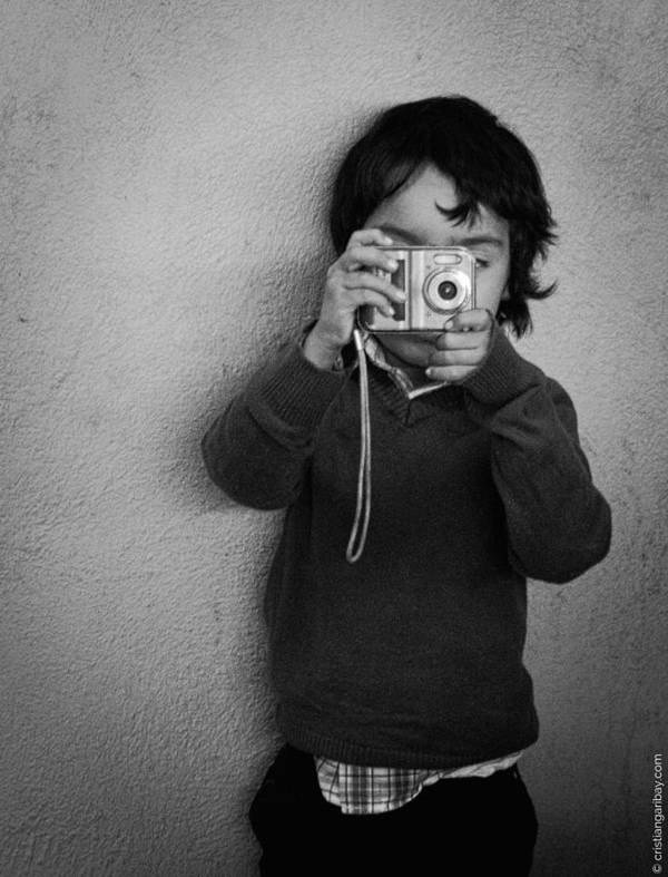 Growing Kids Poster featuring the photograph Say Cheese by Cristian Garibay
