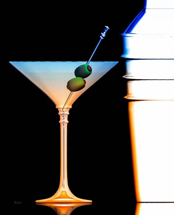 James Bond Poster featuring the digital art Shaken Not Stirred by Bob Orsillo
