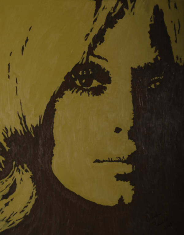 Sharon Poster featuring the painting Sharon by Darlene Fernald