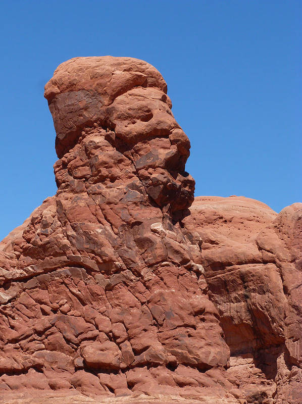 Rock Poster featuring the photograph Singing Rock At Arches Np by Susan Porter