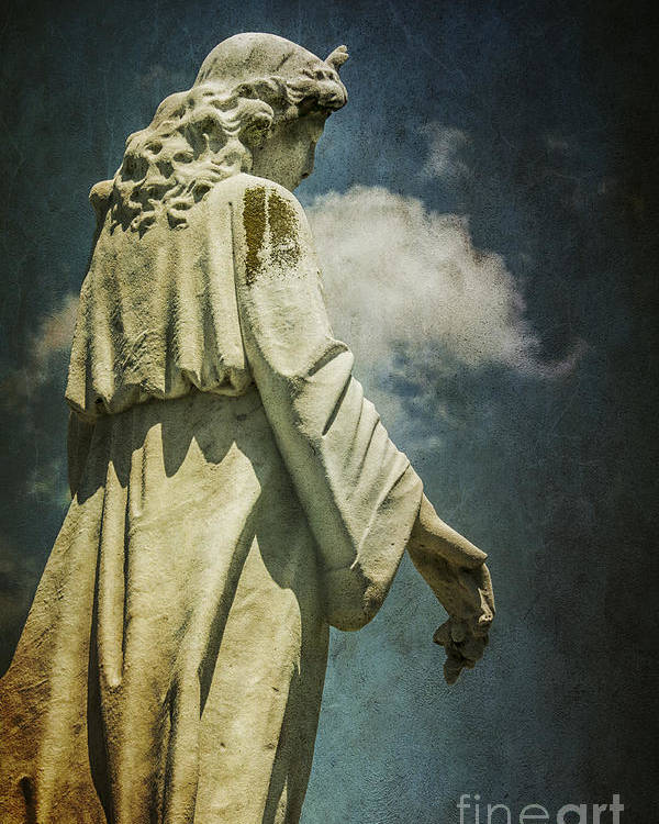 Sky Poster featuring the photograph Sky Angel by Terry Rowe