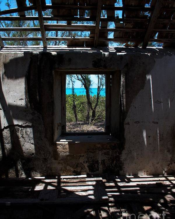 Exuma Poster featuring the photograph Slave House by Cheryl Hurtak