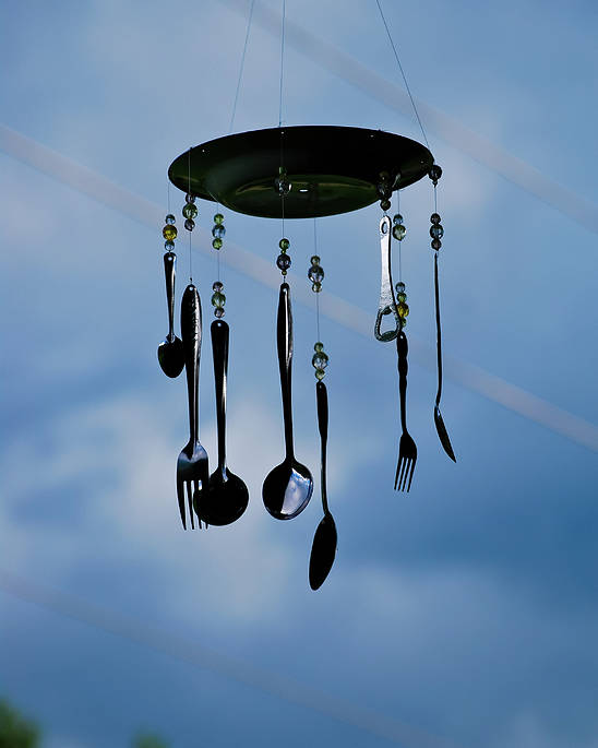 Great Smoky Mountains Poster featuring the photograph Smoky Mountain Windchime by Christi Kraft