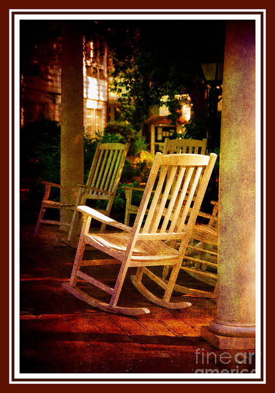 Southern Sunday Afternoon Poster featuring the photograph Southern Sunday Afternoon by Susanne Van Hulst