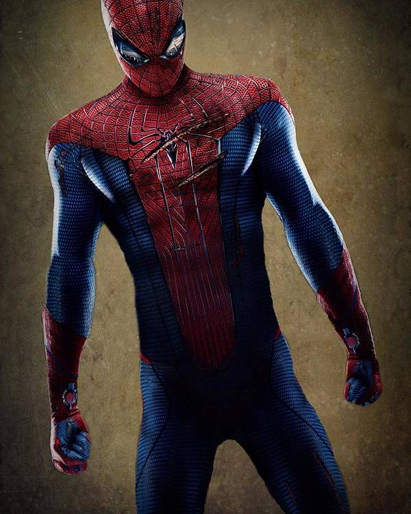Spider-man Poster featuring the digital art Spider-man 2.1 by Movie Poster Prints