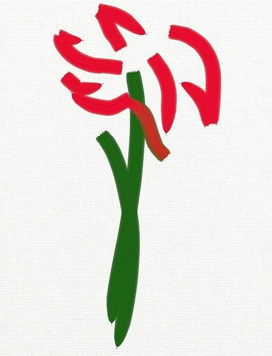 Floral Poster featuring the digital art Springtime by Scott Richardson