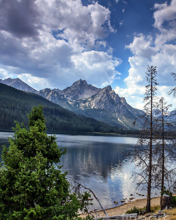 Rocky Mountains Poster featuring the photograph Stanley Lake View by Robert Bales