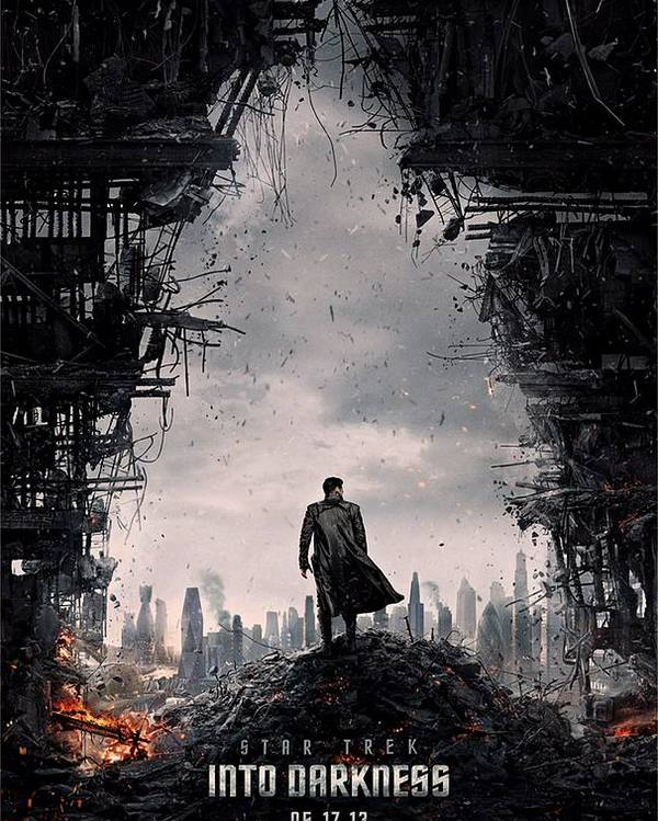 Star Trek Poster featuring the photograph Star Trek Into Darkness by Movie Poster Prints