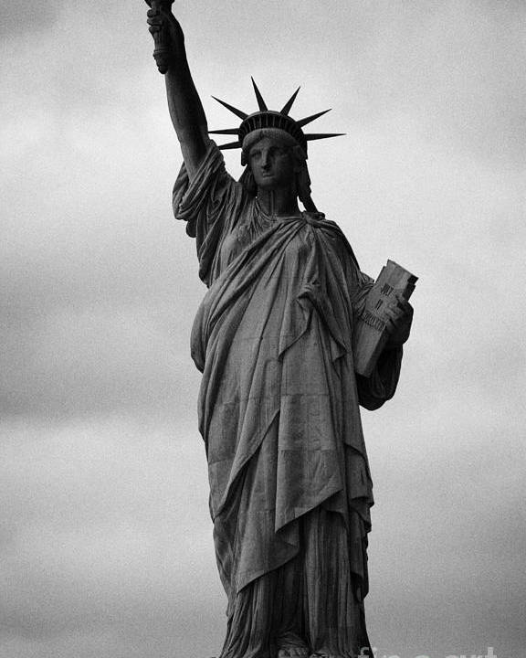 Usa Poster featuring the photograph Statue Of Liberty National Monument Liberty Island New York City Nyc Usa by Joe Fox