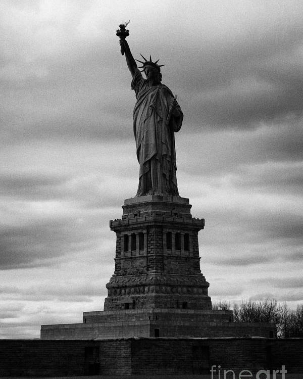Usa Poster featuring the photograph Statue Of Liberty New York City by Joe Fox