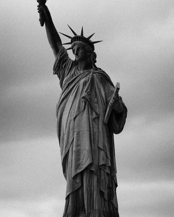 Usa Poster featuring the photograph Statue Of Liberty New York City Usa by Joe Fox