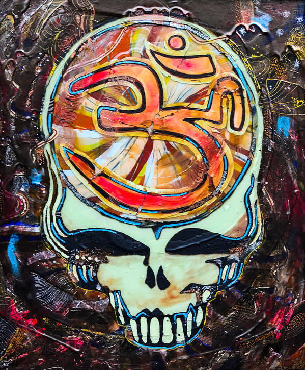 The Grateful Dead Poster featuring the painting Steal Your Search For The Sound by Kevin J Cooper Artwork