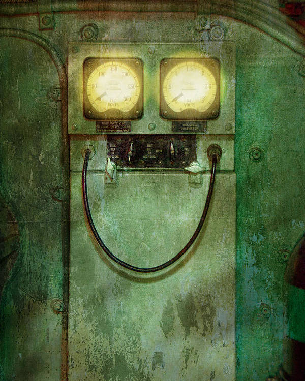 Steampunk Poster featuring the photograph Steampunk - Be Happy by Mike Savad