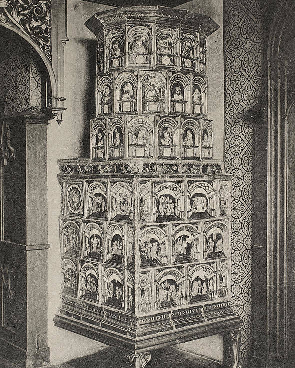 1880 Poster featuring the photograph Stove, 19th Century by Granger