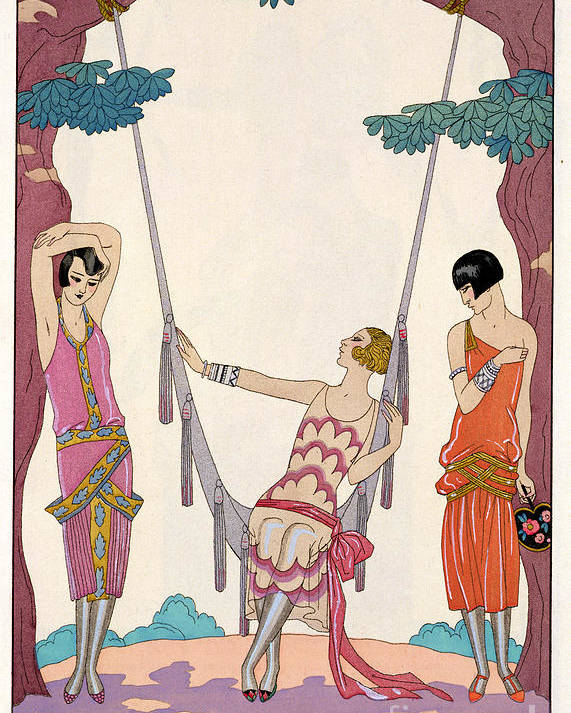 L'ete Poster featuring the painting Summer by Georges Barbier