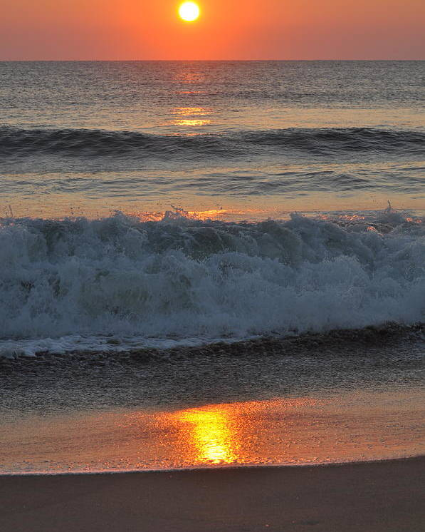 Sunrise Poster featuring the photograph Sunrise On The Atlantic 2 by MCM Photography